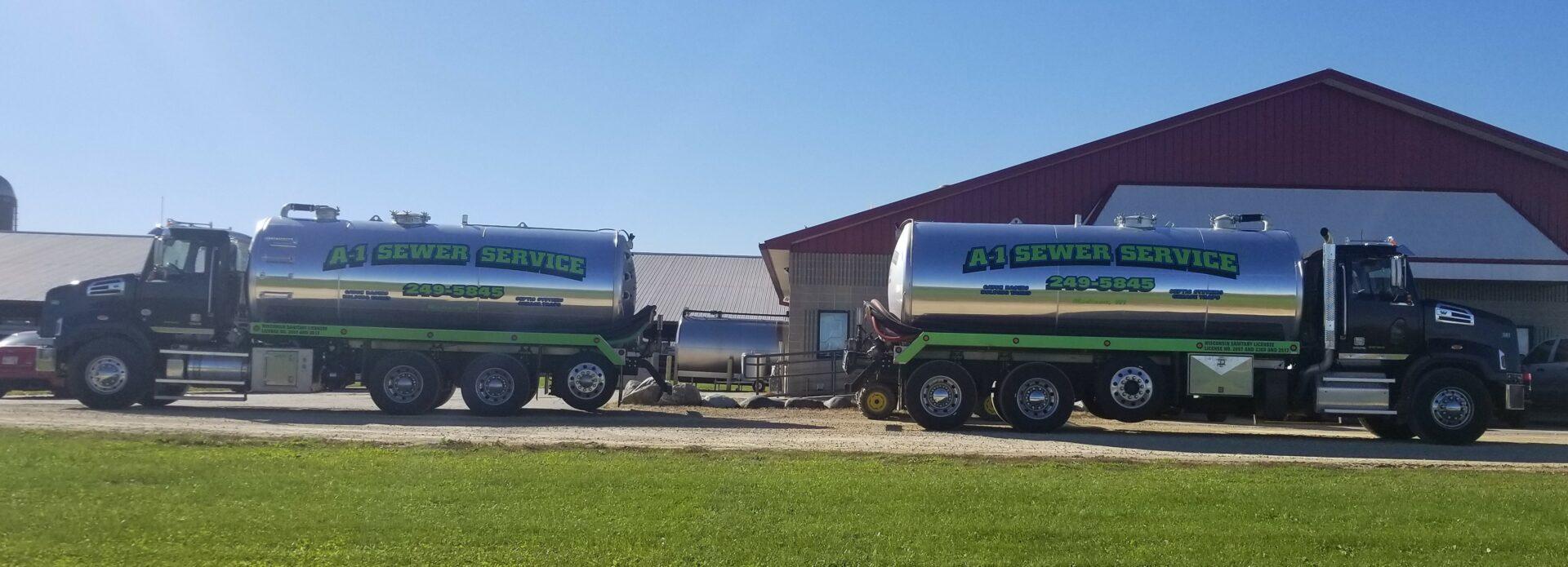 2 new trucks